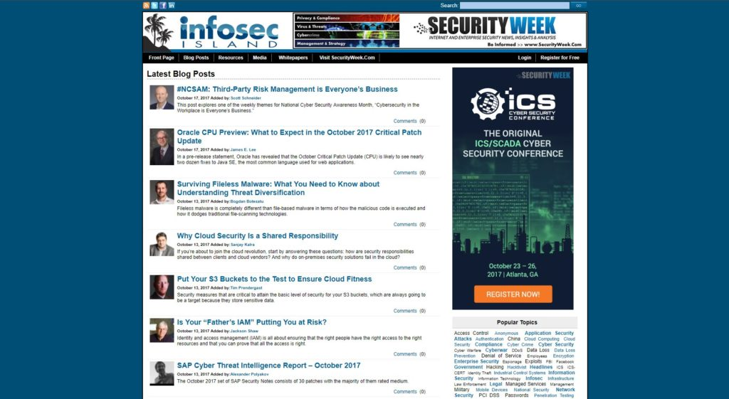 The 30 Best Cyber Security Blogs – Cyber Security Degrees