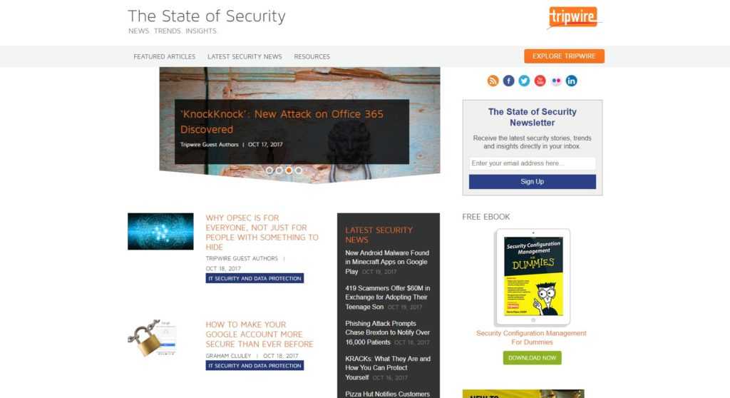 Security consulting ebook 80 off choice image free ebooks and more the 30 best cyber security blogs cyber security degrees state of security fandeluxe choice image fandeluxe Images